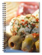 Appetizer Spiral Notebook