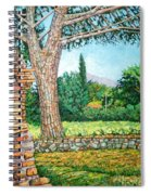 Appia Antica, View, 2008 Spiral Notebook