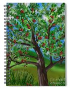 Apple Acres Spiral Notebook