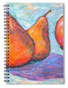 Apple And Pear Twirl Spiral Notebook