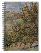 Apple Blossom Spiral Notebook