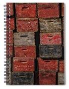 Apple Crates Spiral Notebook