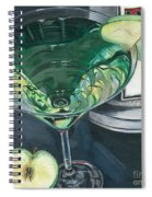 Apple Martini Spiral Notebook