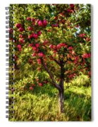 Apple Orchard II Spiral Notebook