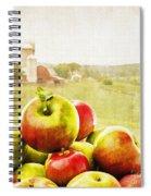 Apple Picking Time Spiral Notebook