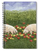 Apple Sows Spiral Notebook