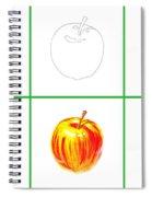Apple Study Spiral Notebook
