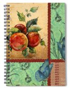 Apple Tapestry-jp2203 Spiral Notebook