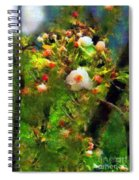 Apple Tree In April Spiral Notebook
