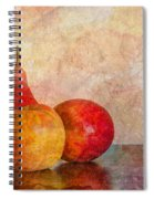 Apples And A Pear Spiral Notebook