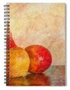 Apples And A Pear II Spiral Notebook