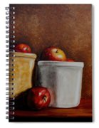 Apples And Jars Spiral Notebook