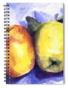 Apples Paired Spiral Notebook