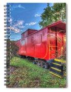 Appomattox Park Caboose Spiral Notebook