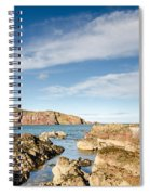 Approach To St Abbs Harbour Spiral Notebook