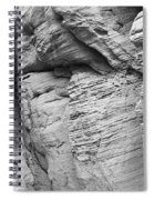 Approach To Tent Rocks Spiral Notebook