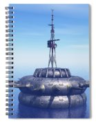 Approach With Extreme Caution Spiral Notebook