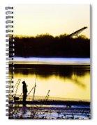 Approaching Dawn Spiral Notebook