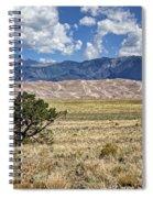 Approaching Great Sand Dunes #2 Spiral Notebook