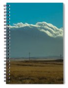Grassland Approaching Humphreys Peak Spiral Notebook