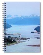Approaching Juneau Spiral Notebook