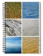 April Beach 2.0 Spiral Notebook