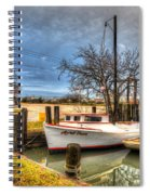 April Dawn Poquoson Virginia Spiral Notebook