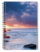 April Light Spiral Notebook