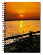 April Sunset Spiral Notebook
