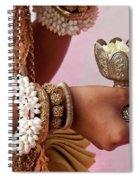 Apsara Dancer 01 Spiral Notebook