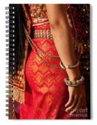 Apsara Dancer 02 Spiral Notebook