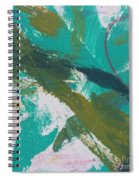 Aqua And Green Spiral Notebook