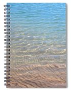 Aqua Art Spiral Notebook