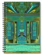 Aqua House 2 Spiral Notebook