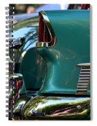 Aqua Marine Blue Chevy Spiral Notebook