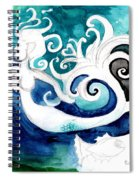 Aqua Mermaid Spiral Notebook