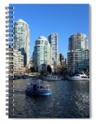 Aqua Ride Spiral Notebook