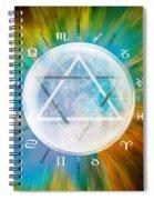 Aquarian Moon Yuga Spiral Notebook