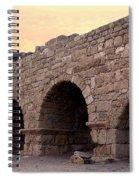 Aqueduct At Caesarea   Spiral Notebook