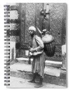 Arab Waterboy, C1900 Spiral Notebook