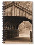 Arabia Mountain Covered Bridge Spiral Notebook