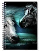 Arabian Moon Spiral Notebook
