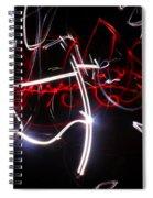 Arabian Night...light Painting Spiral Notebook