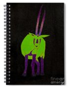 Arabian Oryx Spiral Notebook