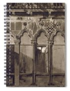 Arabian Windows, In Campo Santa Maria Spiral Notebook