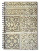 Arabic Tile Designs  Spiral Notebook
