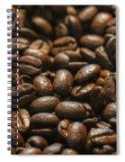 Arabica Beans Spiral Notebook
