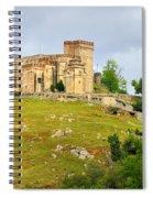 Aracena Castle Sxiii Spiral Notebook