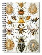 Arachnida Spiral Notebook