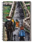 Aran Island Walk Spiral Notebook